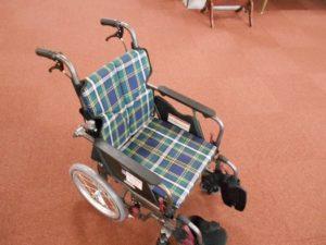 寄贈車椅子2